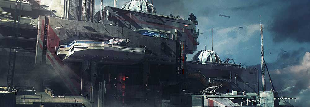 Amazing New Sci-Fi Artworks by Sebastien Hue