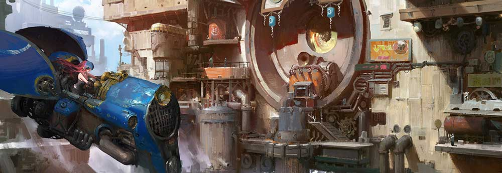 The Sci-Fi & Fantasy Artworks of Muyang Xu