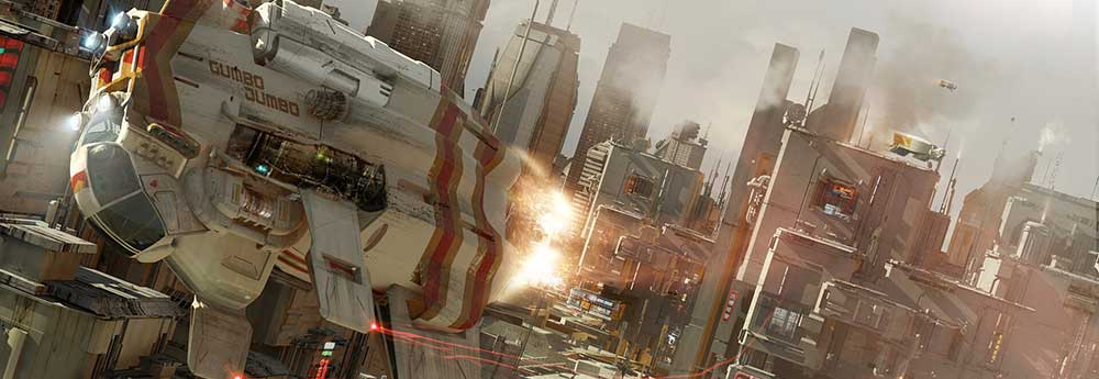 Amazing New Sci-Fi Artworks by Col Price!