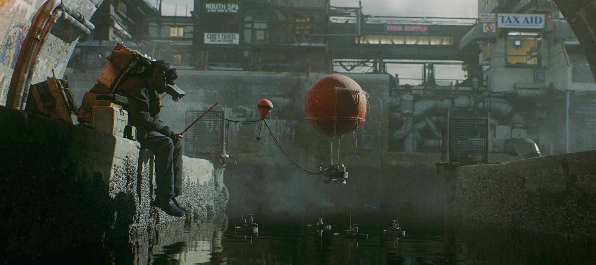 The Cinematic Sci-Fi Art of Ian Hubert