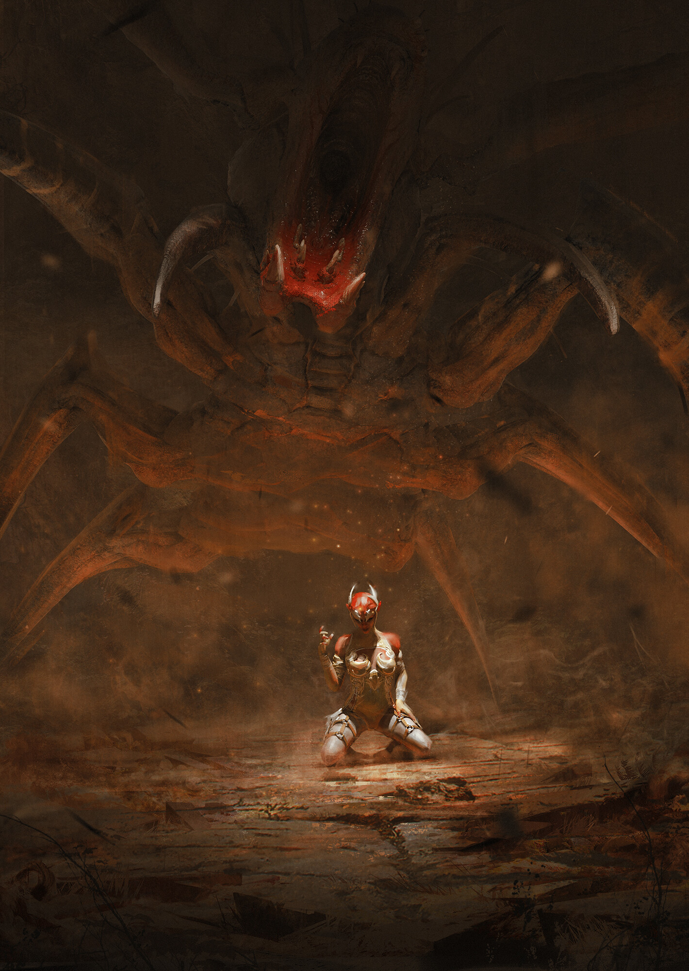 The Amazing Fantasy Art of Emilis Emka