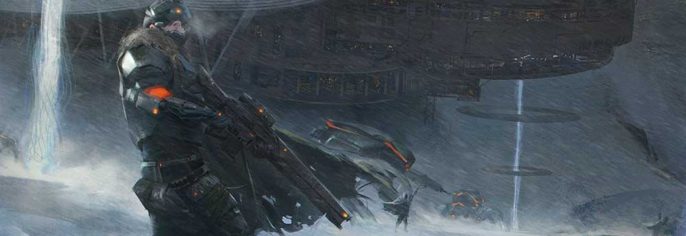 The Sci-Fi Concept Art of Yuxing Zhang