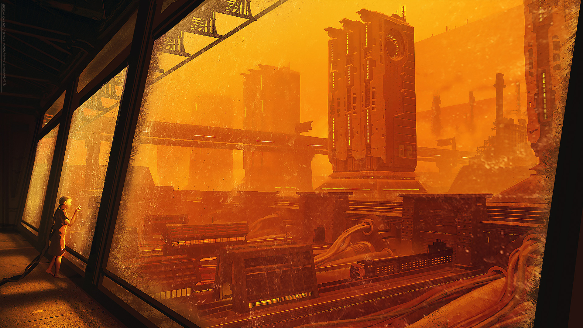 The Science Fiction Art of Andrew Collins