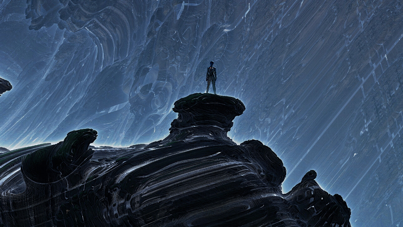 The Atmospheric Sci-Fi Art of Karl Sisson