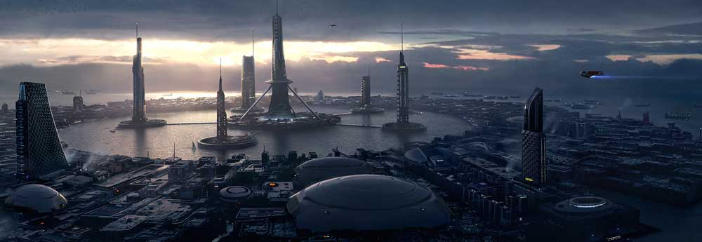The Magnificent Sci-Fi Art of Raja Nanadepu