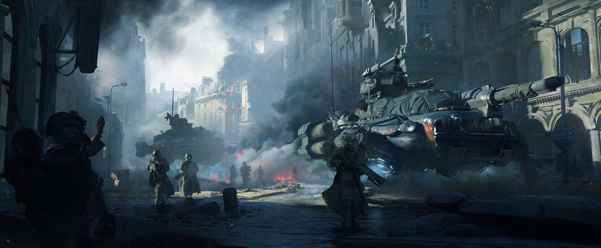 The Impressive Sci-Fi Art of Xiangzhao Xi