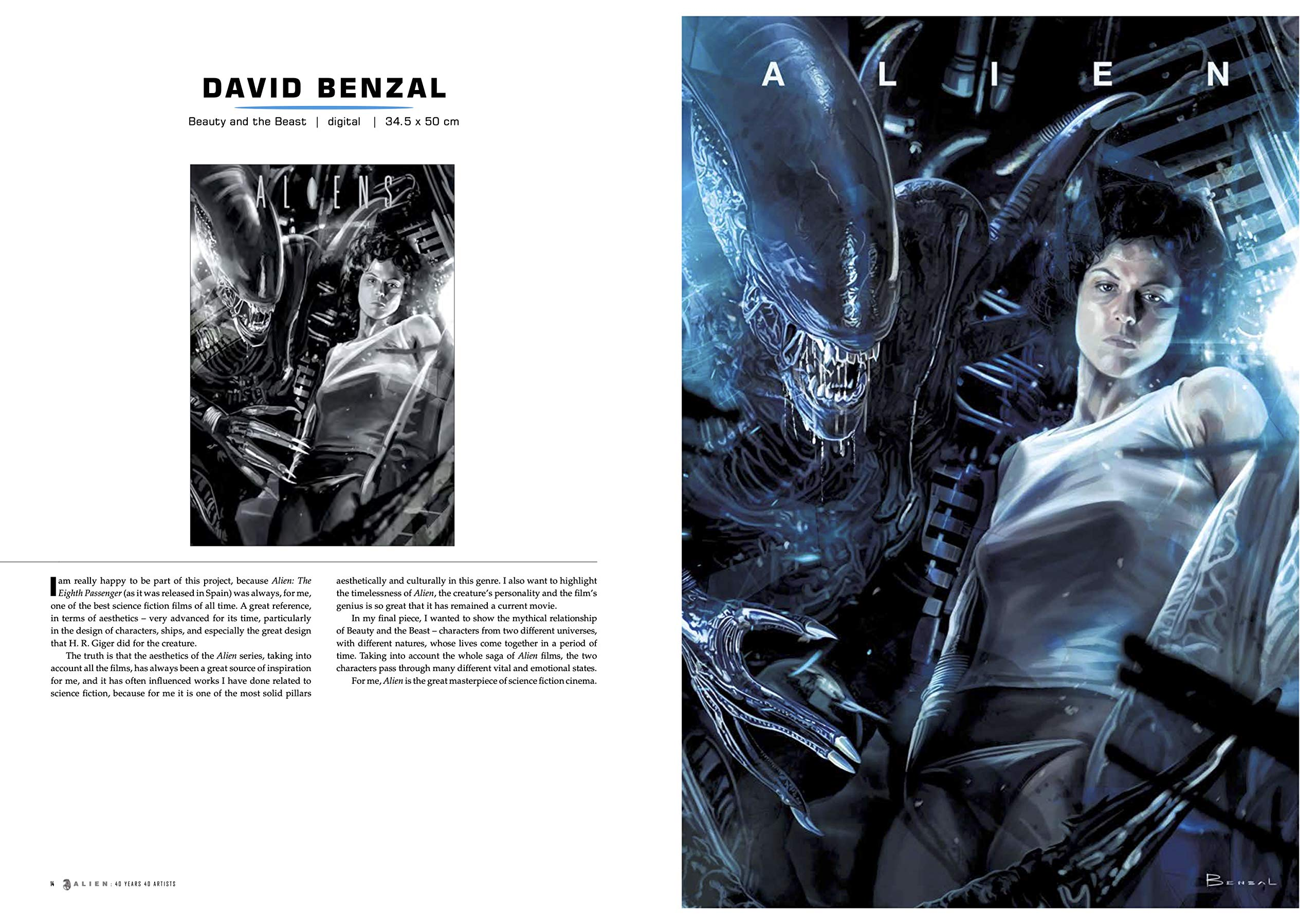 Alien: 40 Years 40 Artists Book Feature