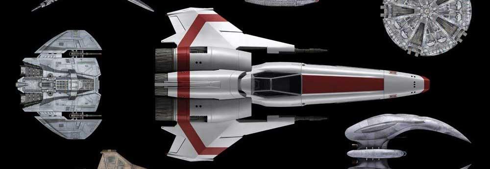 Battlestar Galactica Shipyards Book Video!