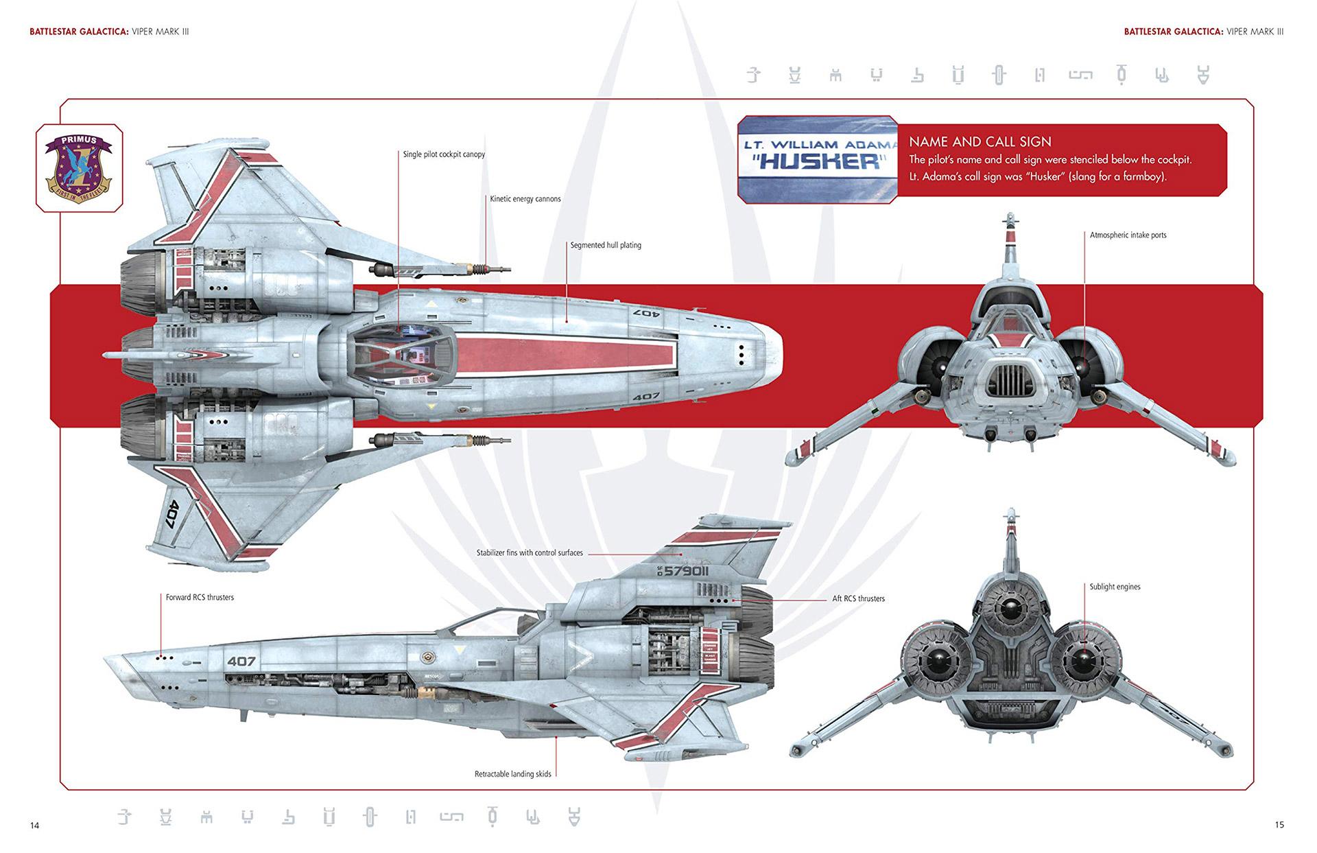 Battlestar Galactica Shipyards Book