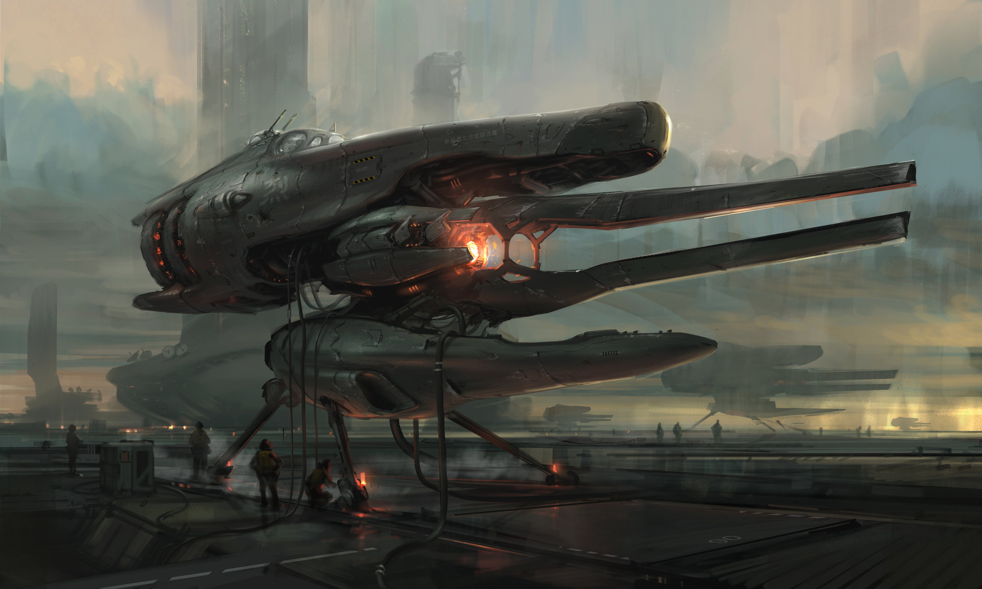 Amazing Sci-Fi Concept Designs by Prog Wang