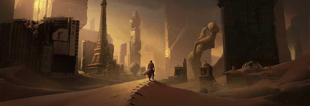 The Sci-Fi & Fantasy Art of Jeremy Paillotin