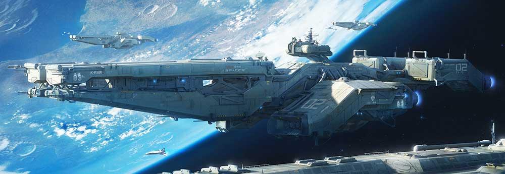 The Science Fiction Art of Ken Le Bras