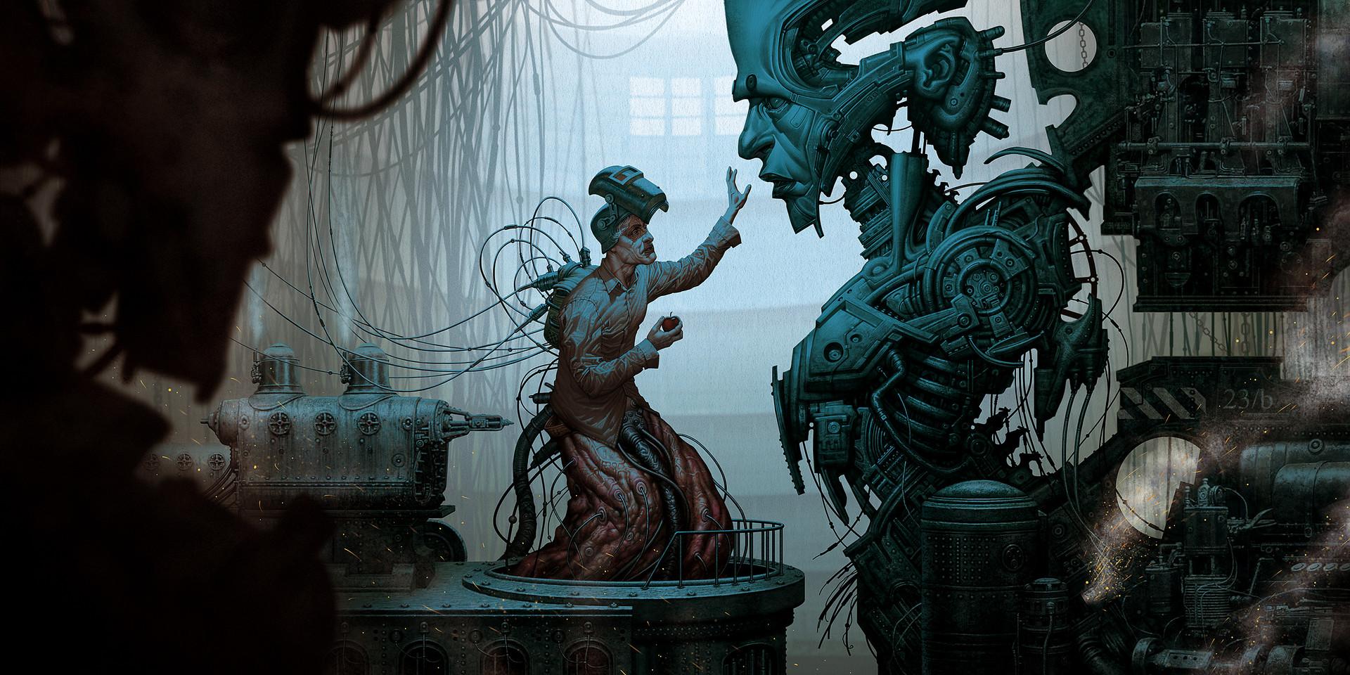 The Dark Fantasy Art of Francesco Ausonia Ciampi