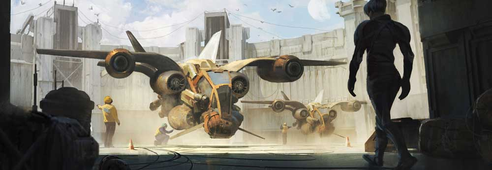 The Sci-Fi Concept Art of Andrew Andreev