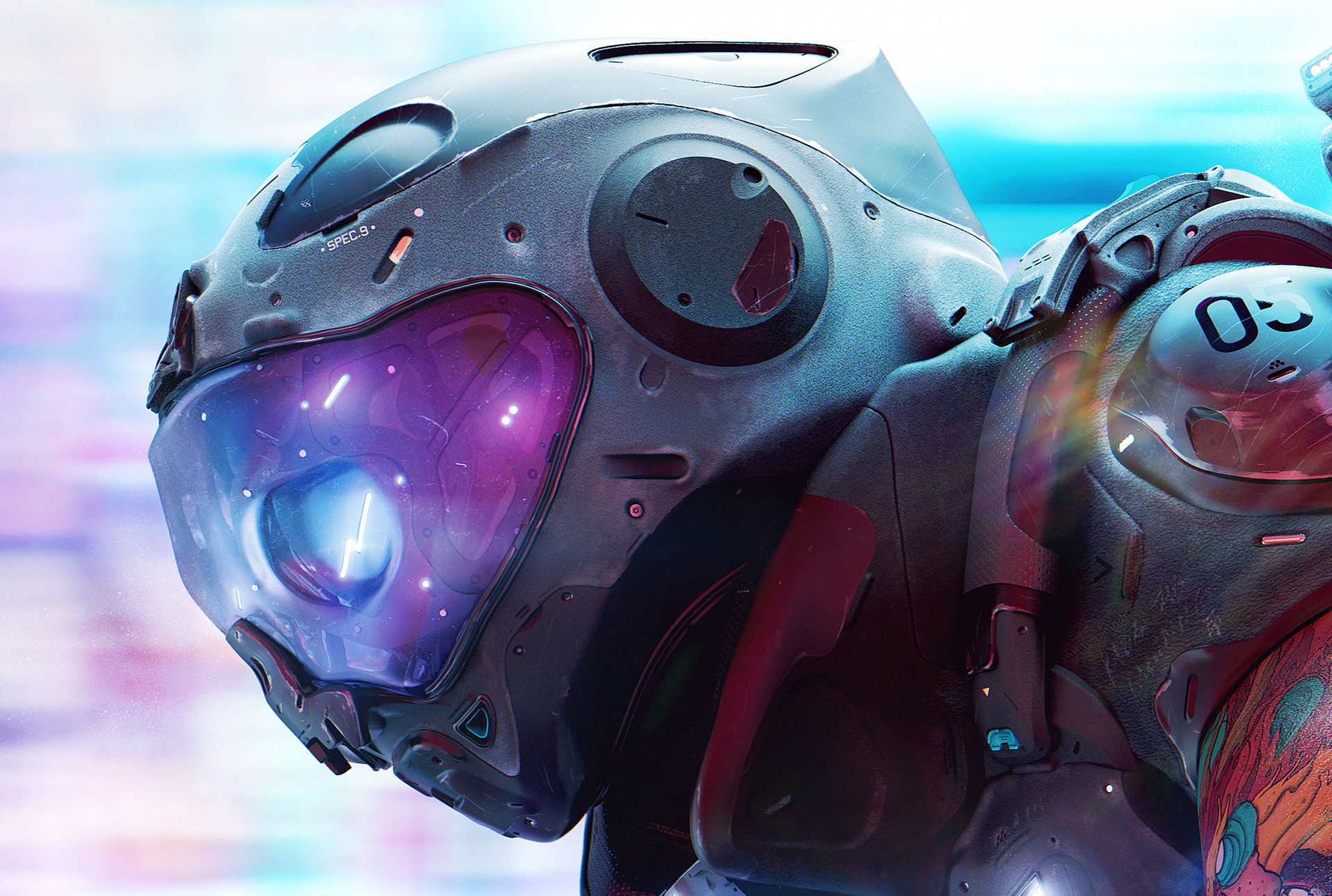 The Mind Blowing 3d Sci-Fi Art of Nelson Tai