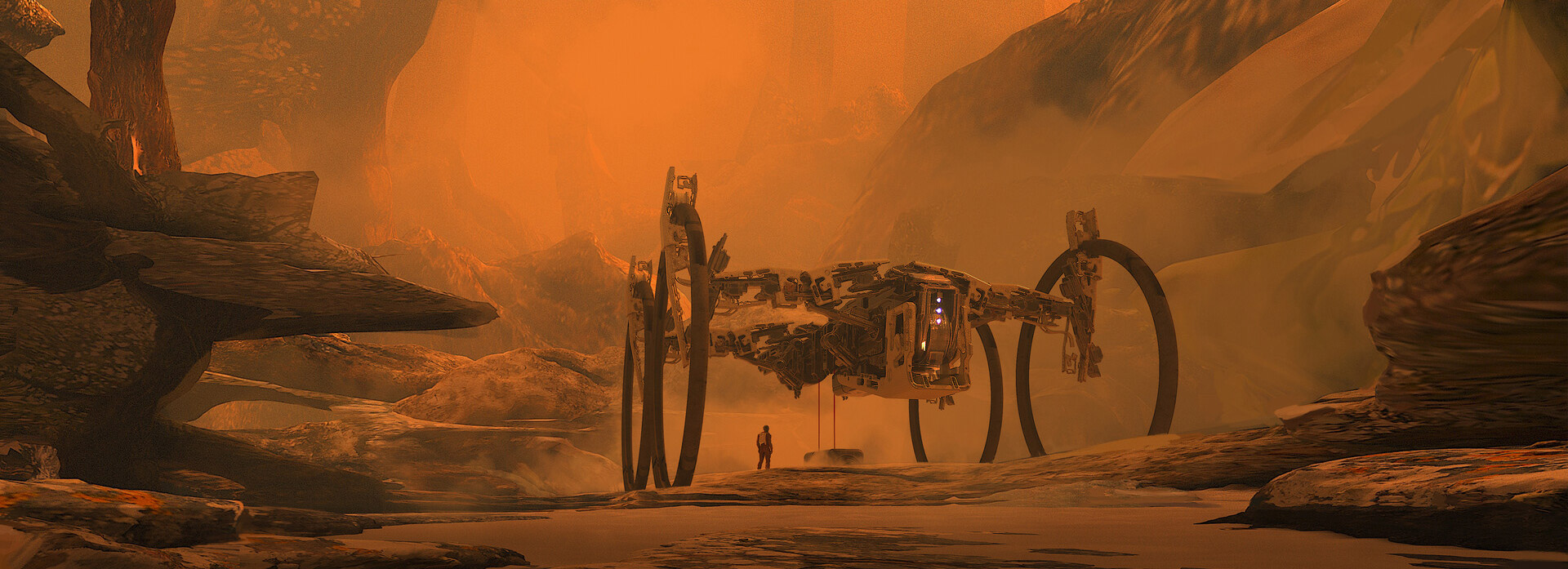 The Futuristic Sci-Fi Art of Artyom Turskyi