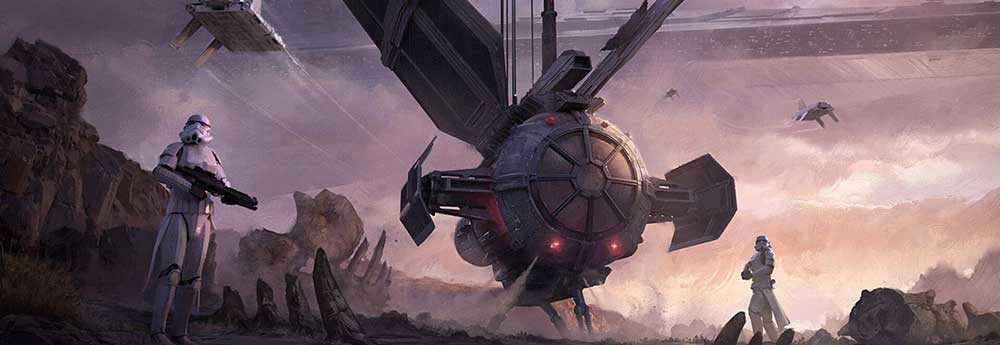 The Futuristic Sci-Fi Artworks of Clinton Felker