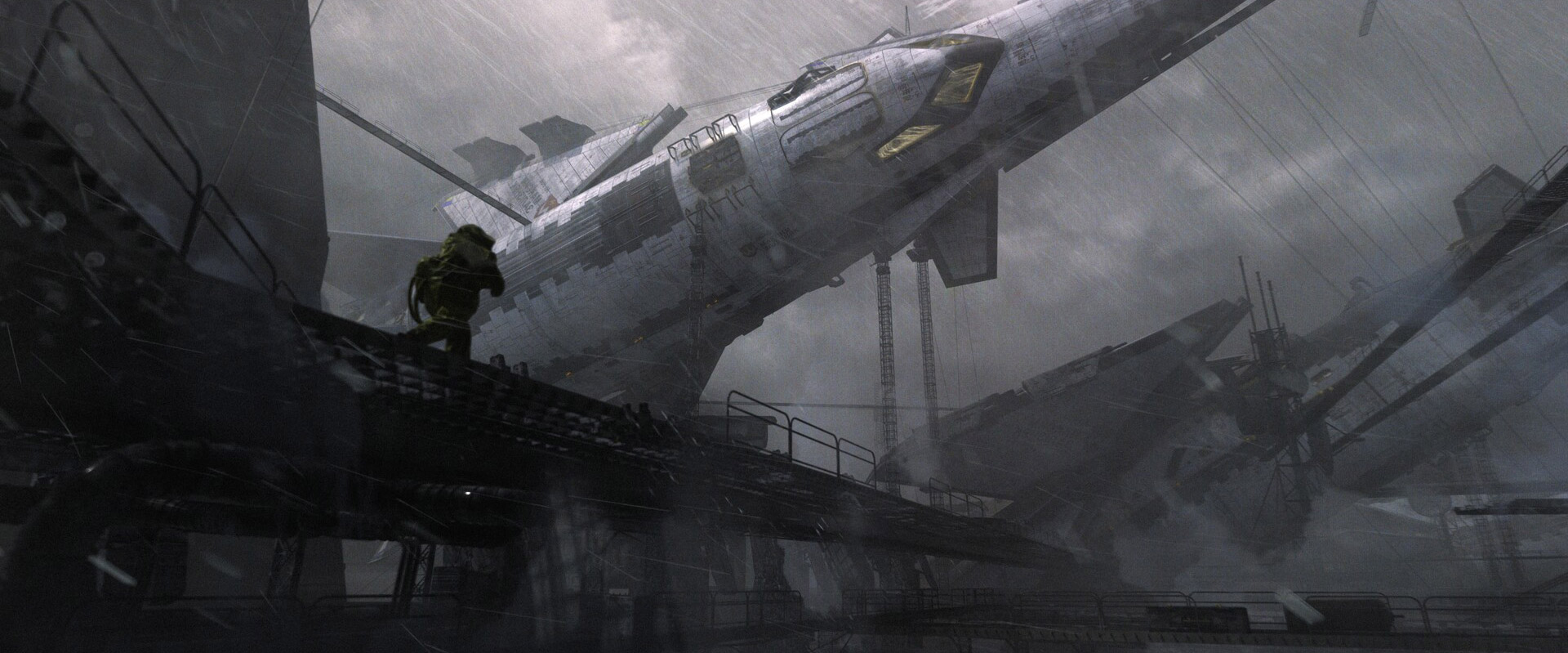 The Science Fiction Art of Oleksiy Rysyuk