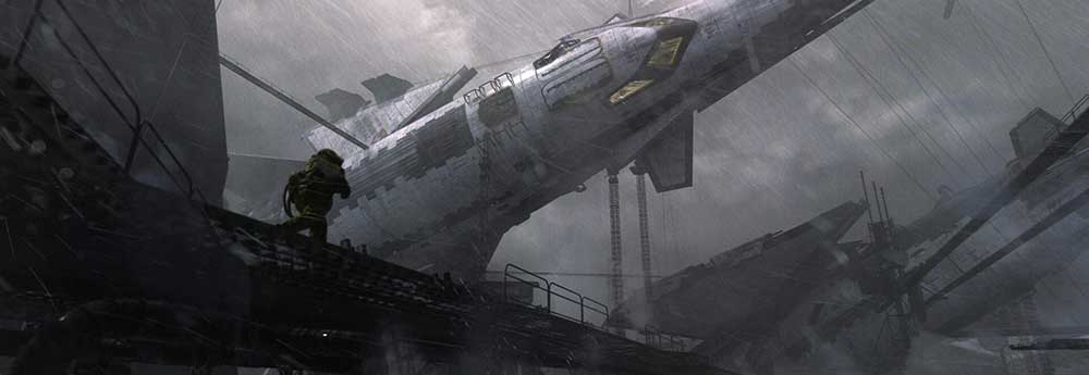 The Science Fiction Art of Oleksiy Rysyuk