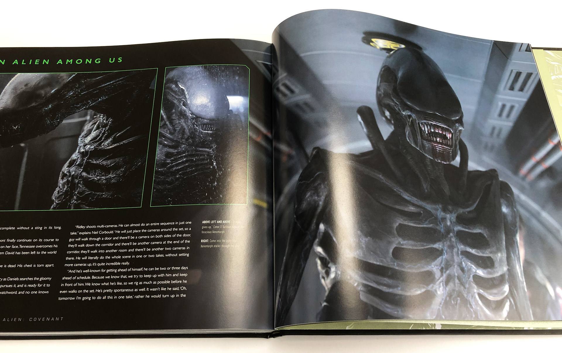 The Art and Making of Alien: Covenant Book Review