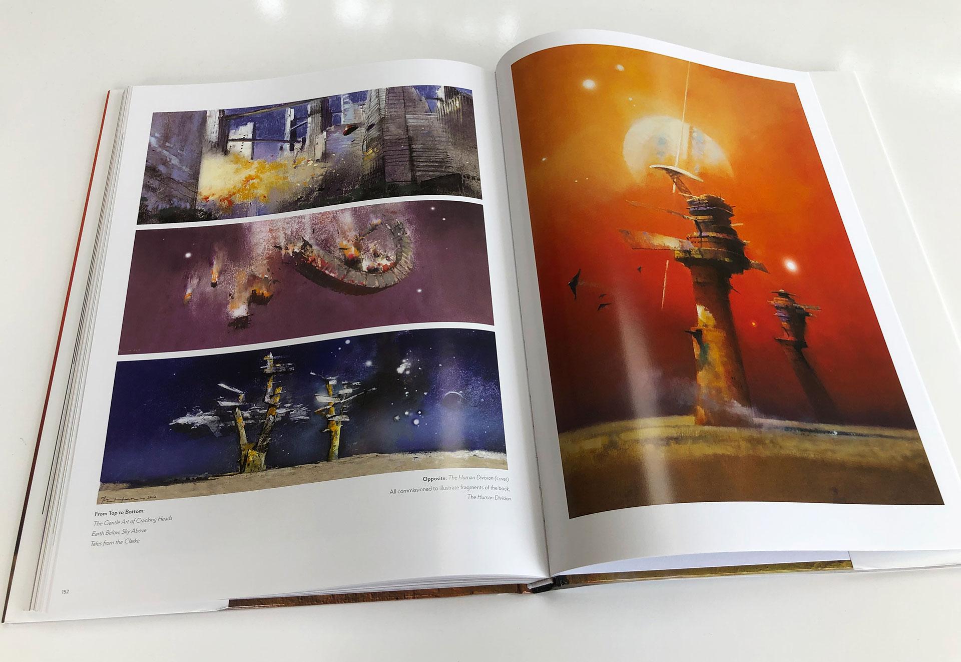 The Art of John Harris - Beyond the Horizon Art Book