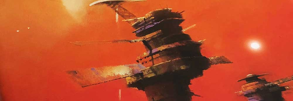 The Art of John Harris - Beyond the Horizon Art Book