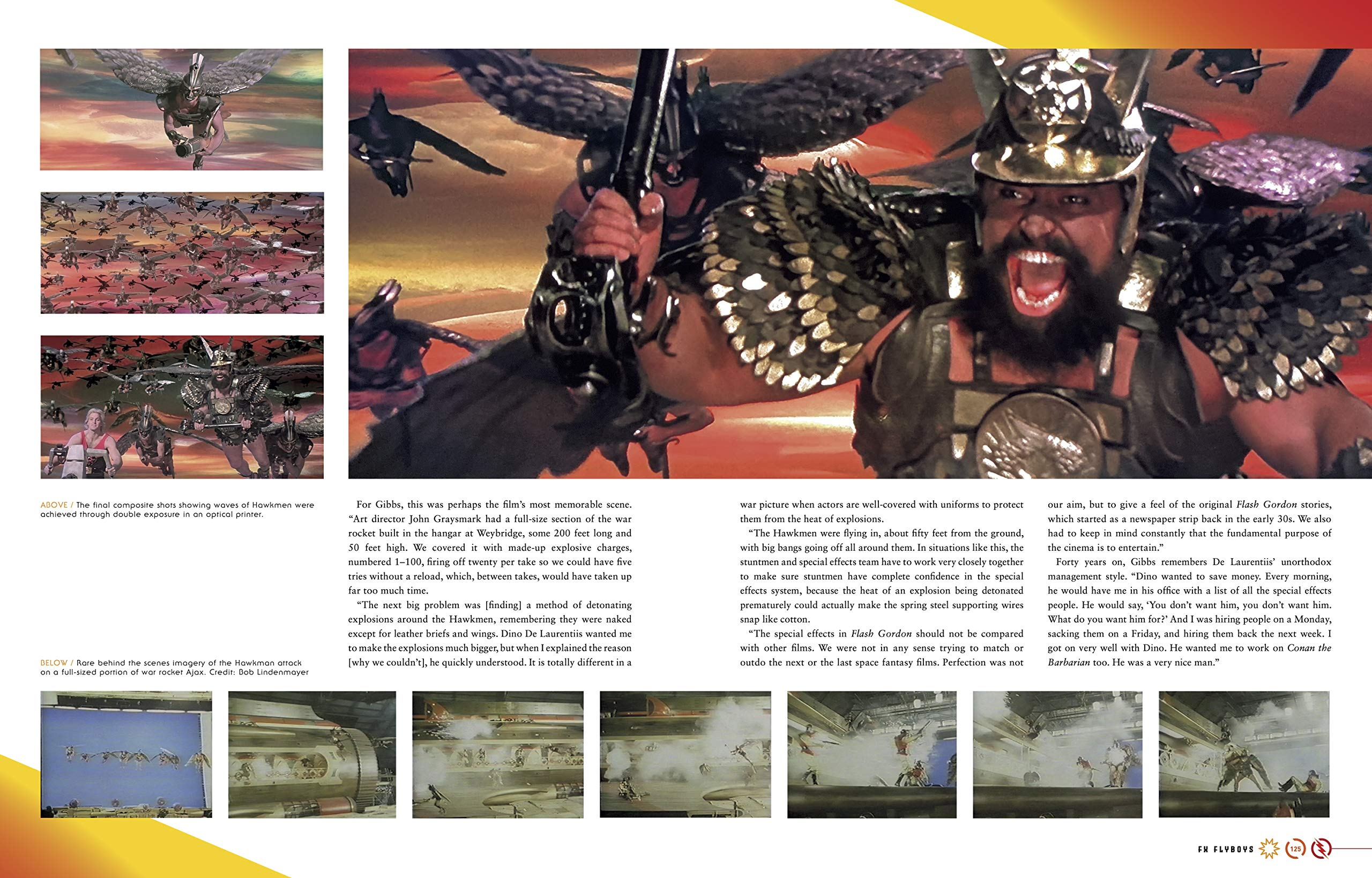 Flash Gordon: The Official Story of the Film Book