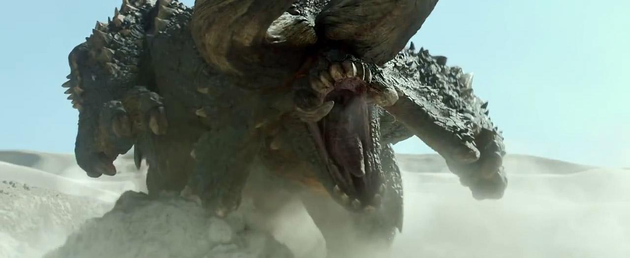 First Full Trailer for Monster Hunter