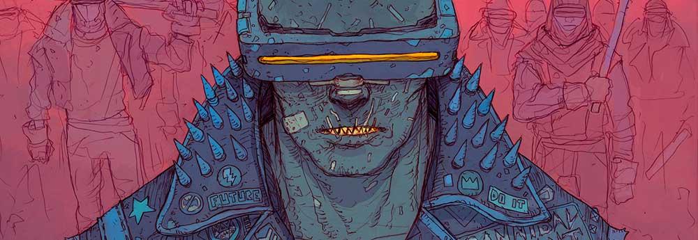 The Cool Cyberpunk Art of DeathBurger!