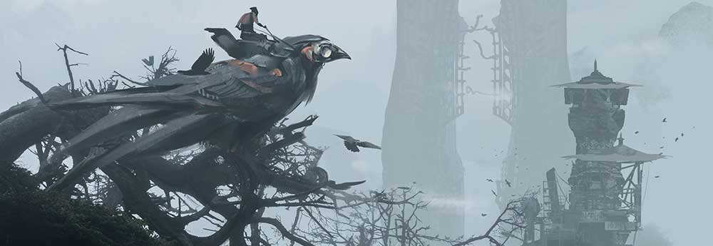 The Amazing Digital Artworks of Liang Mark