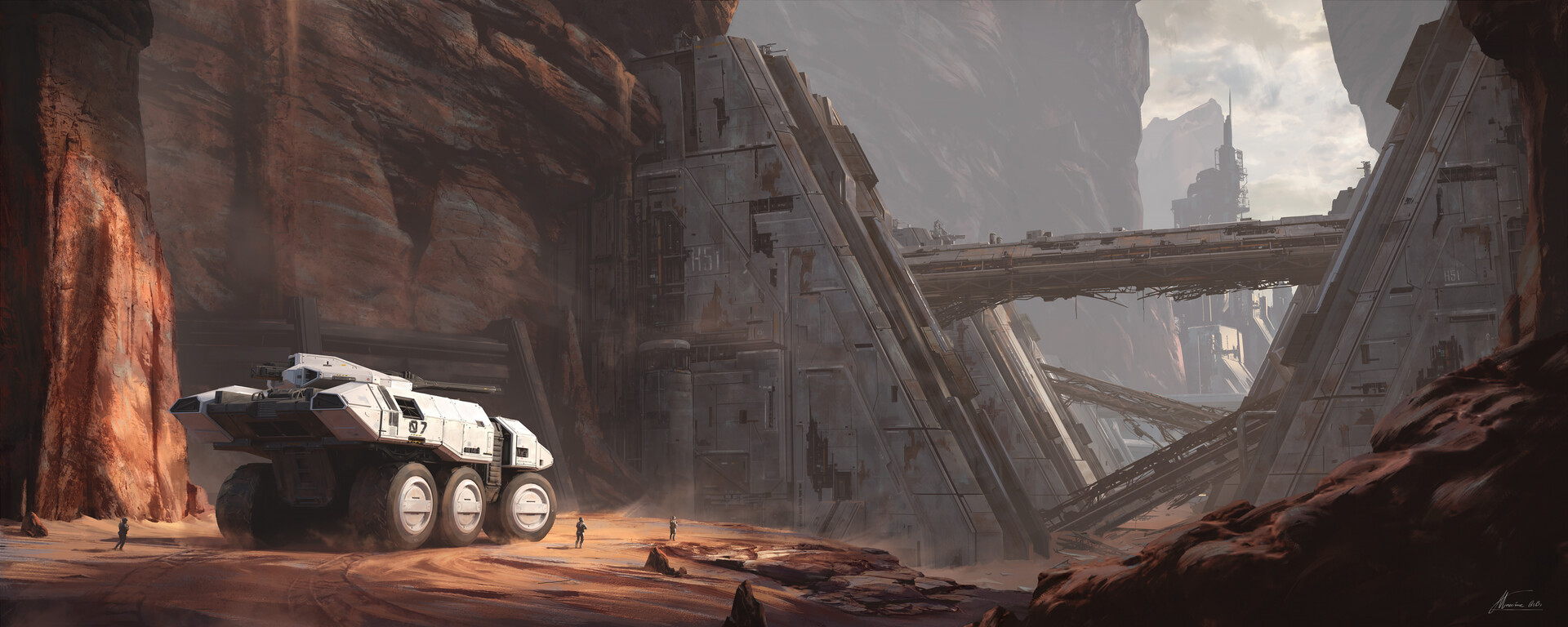 The Superb Sci-Fi Art of Maxime BiBi