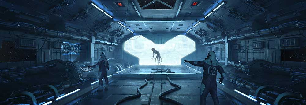 The Amazing Sci-Fi Paintings of Pavel Vophira