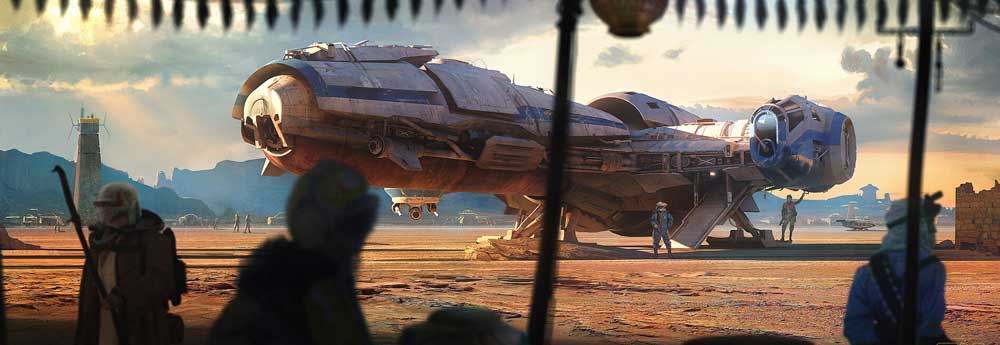 The Sci-Fi & Star Wars Art of Rasmus Poulsen