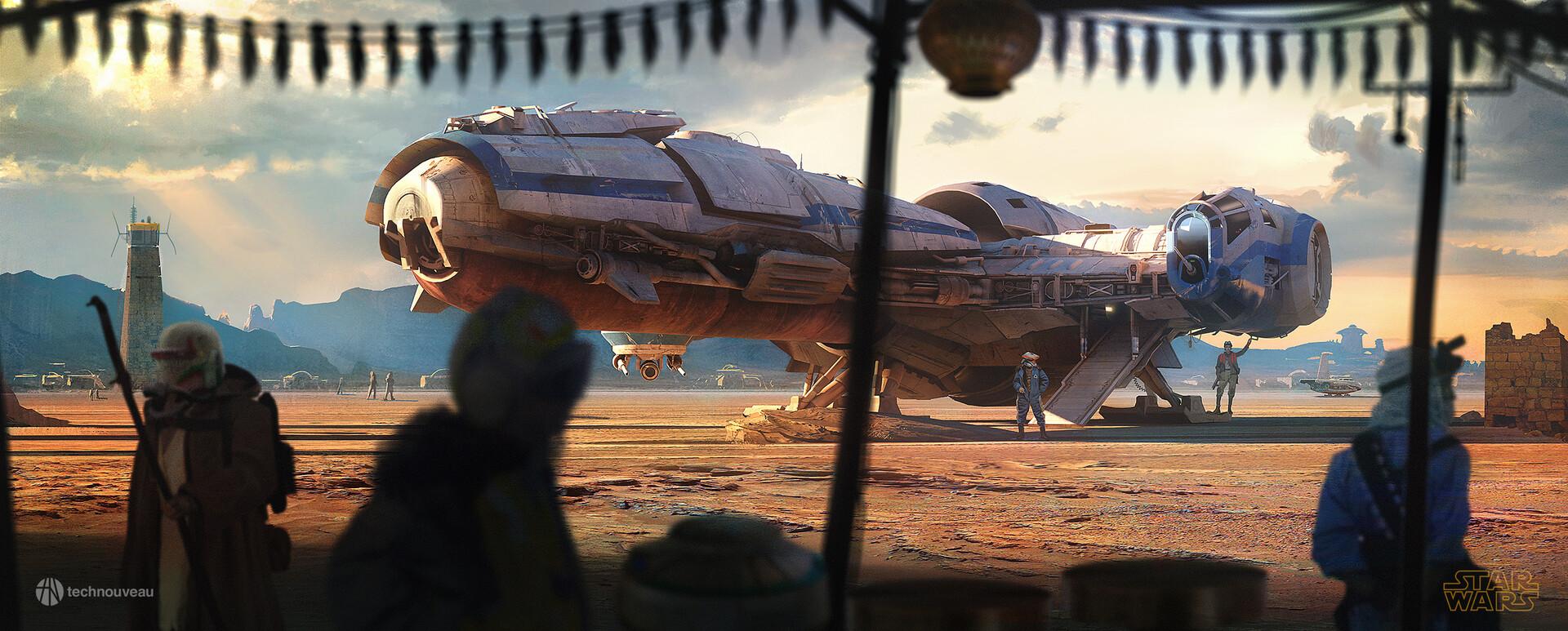 The Sci-Fi & Star Wars Art of Rasmus Poulsen