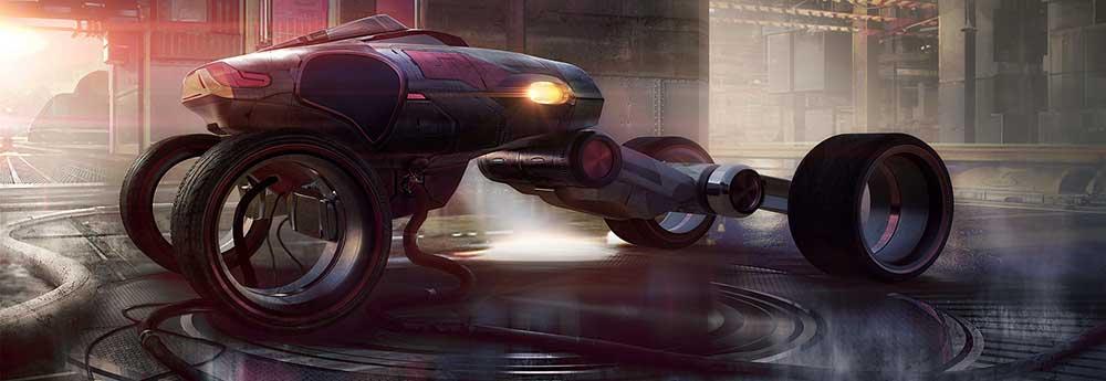 The Superb Sci-Fi Art of Ryan Moeck