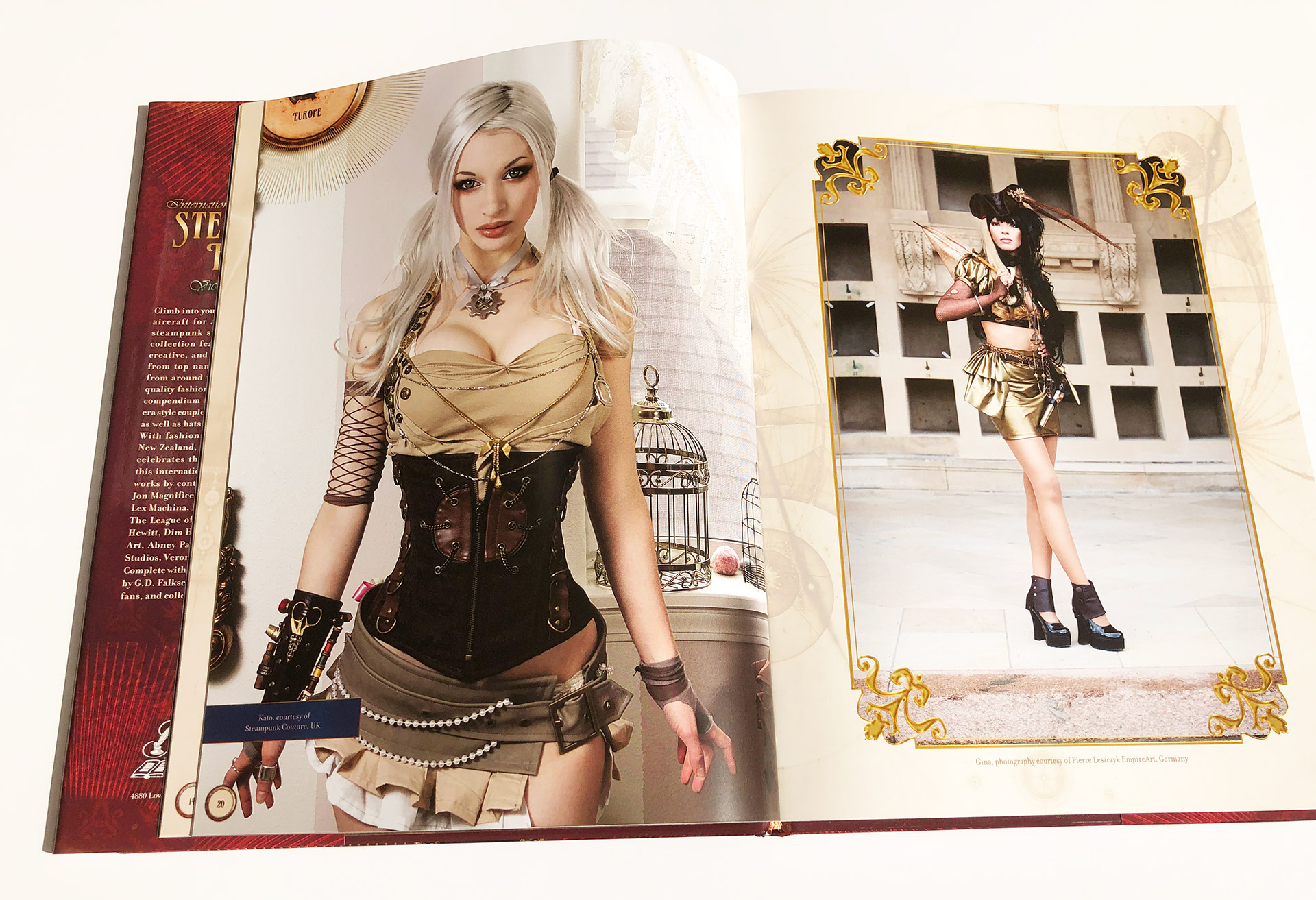 International Steampunk Fashions Book Review
