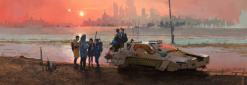 The Digital Sci-Fi Artworks of Ismail Inceoglu