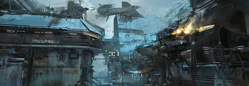 The Amazing Digital Sci-Fi Art of Leo Li