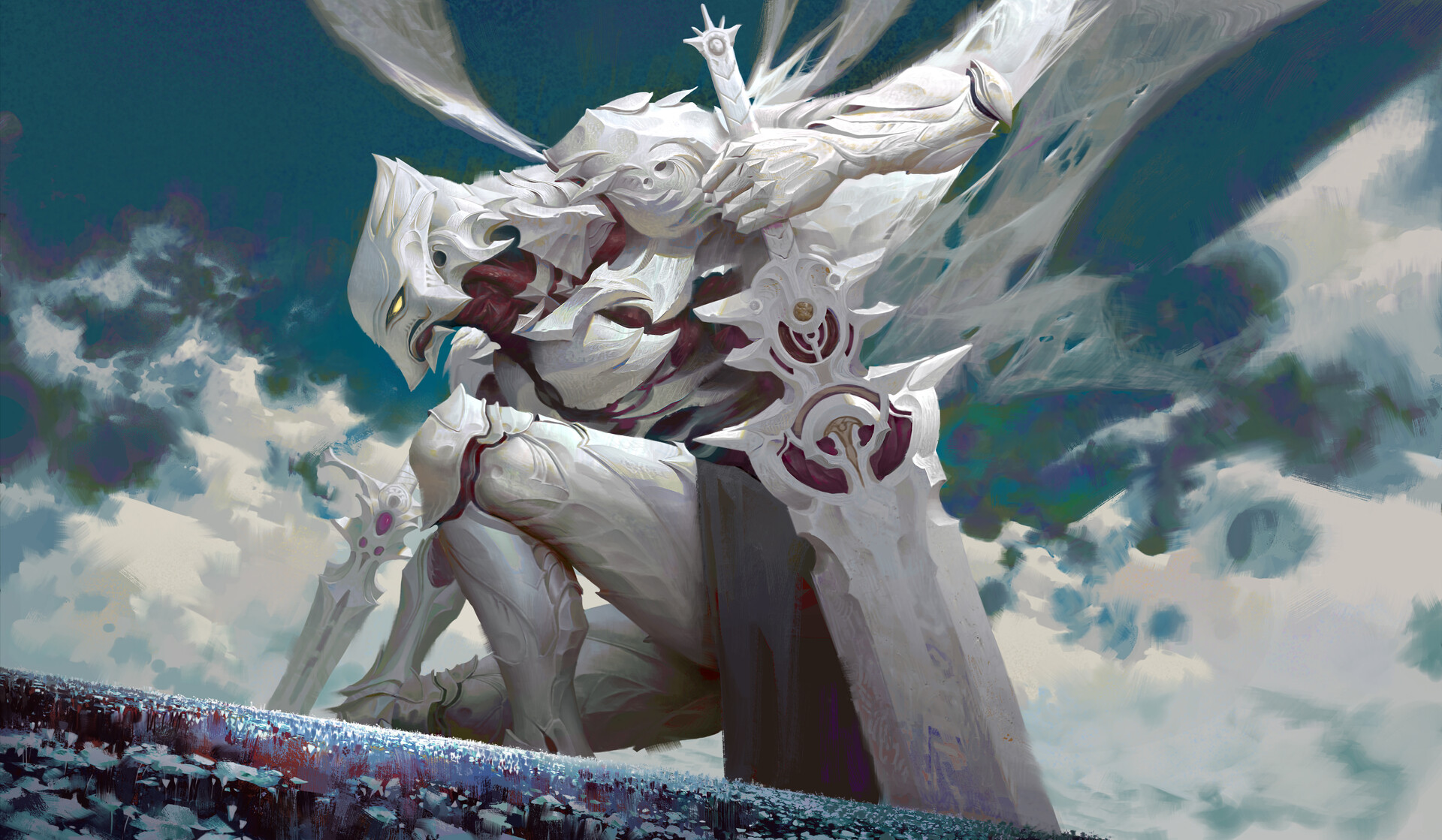 The Exquisite Fantasy Artworks of Ya Lun