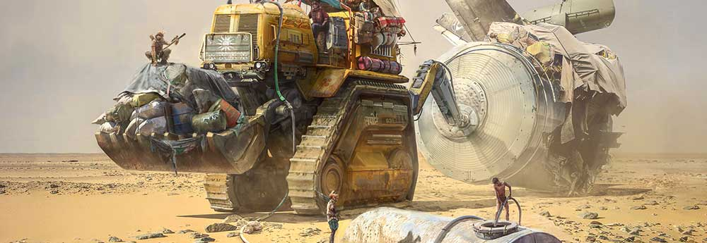 The Amazing Sci-Fi Art of Dujeu Sebastien
