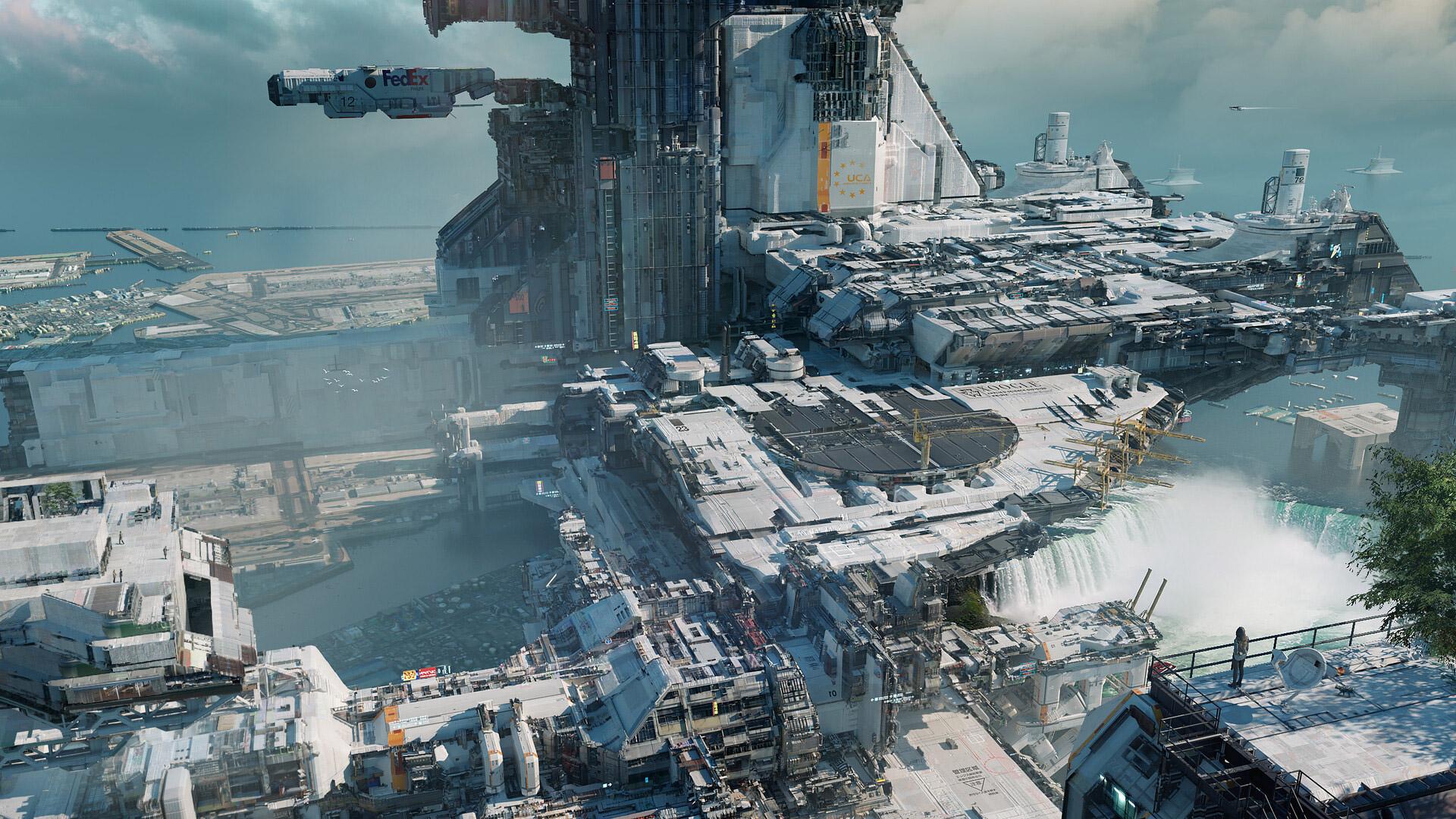 The Futuristic Science Fiction Art of Federico Pelat