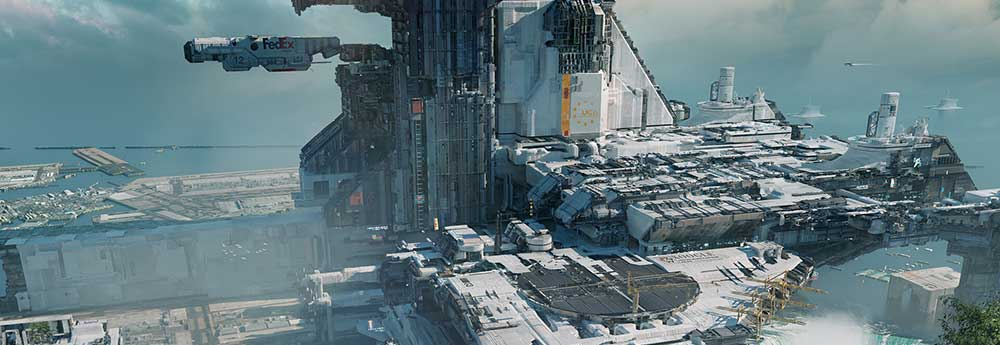 The Futuristic Sci-Fi Art of Federico Pelat