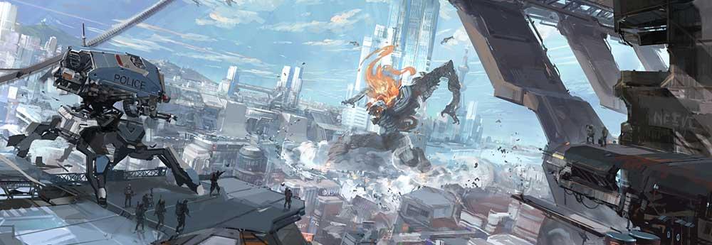 The Sci-Fi Concept Art of Shoutao Tang (TANG0 ST)