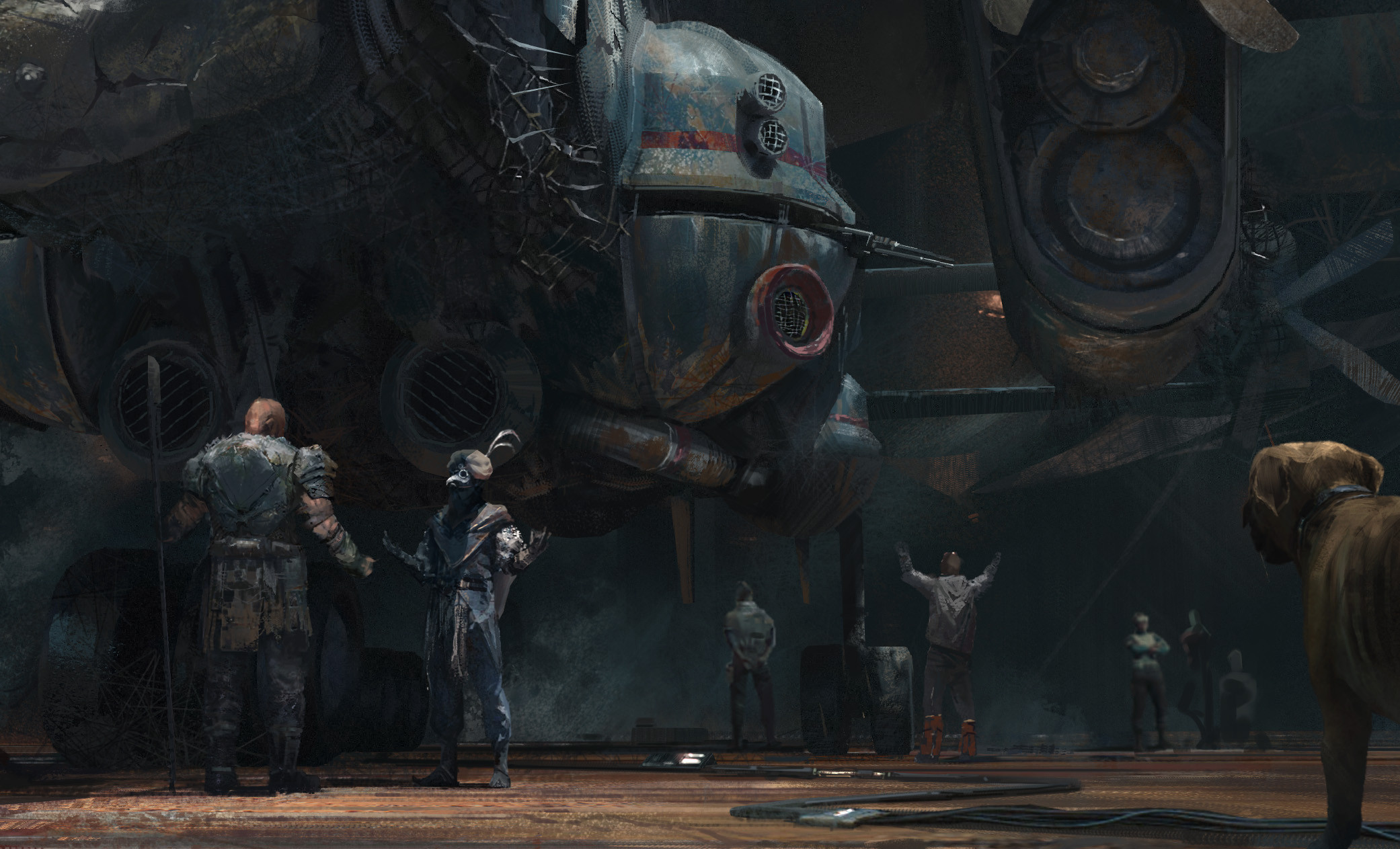 The Superb Sci-Fi Artworks of Zhu Liu