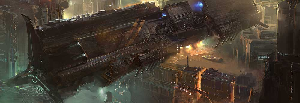 The Impressive Sci-Fi Concept Art of Hans Park
