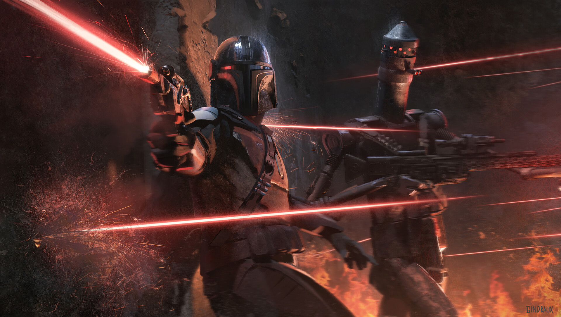The Sci-Fi & Star Wars Artworks of Nick Gindraux