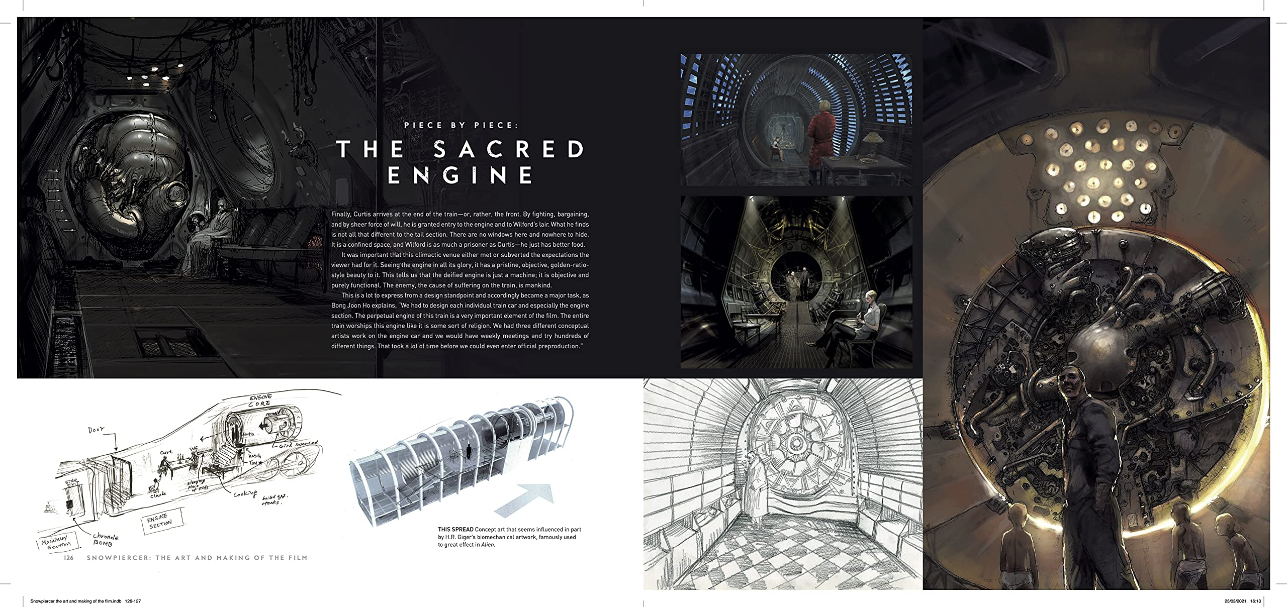 Snowpiercer: The Art and Making of the Film Book