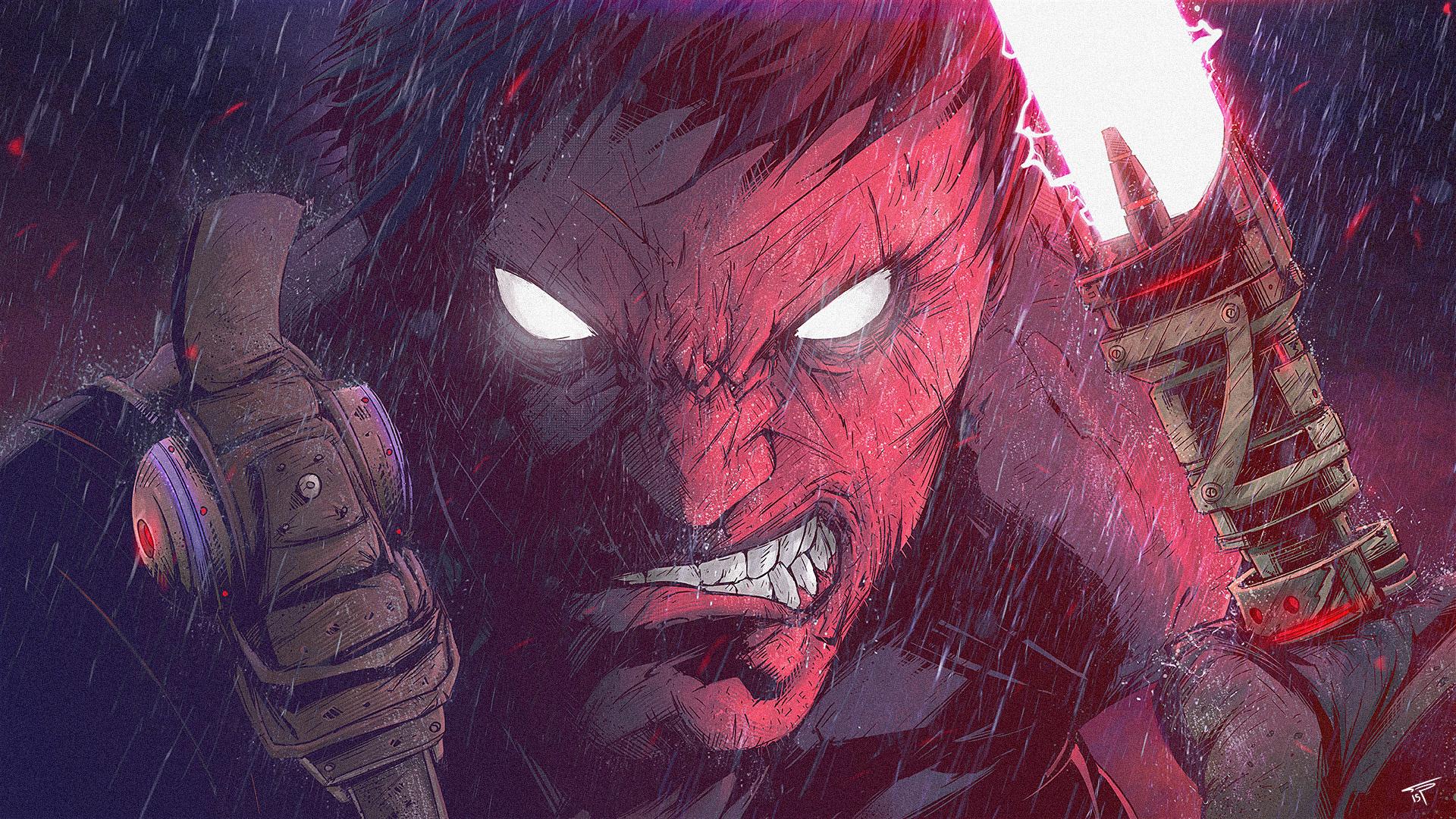 The Badass Comic Book Art of Tonton Revolver!