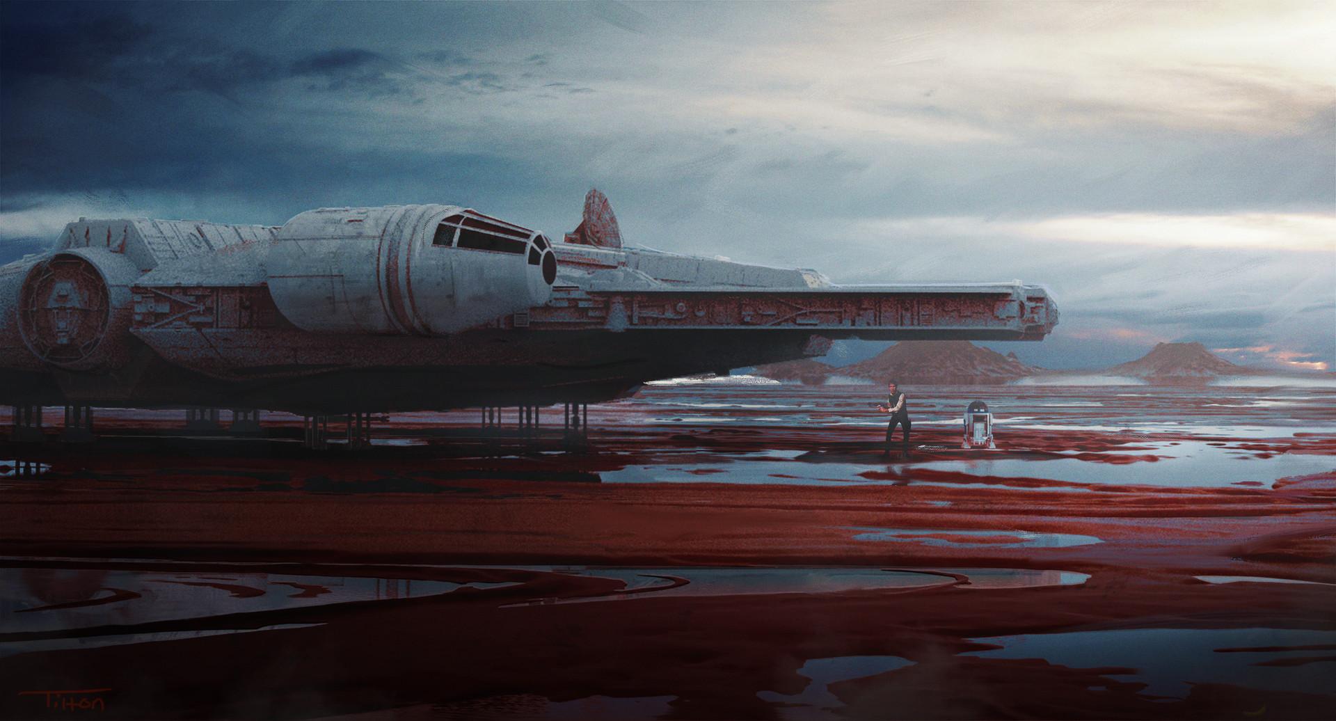 The Science Fiction Artworks of David Tilton