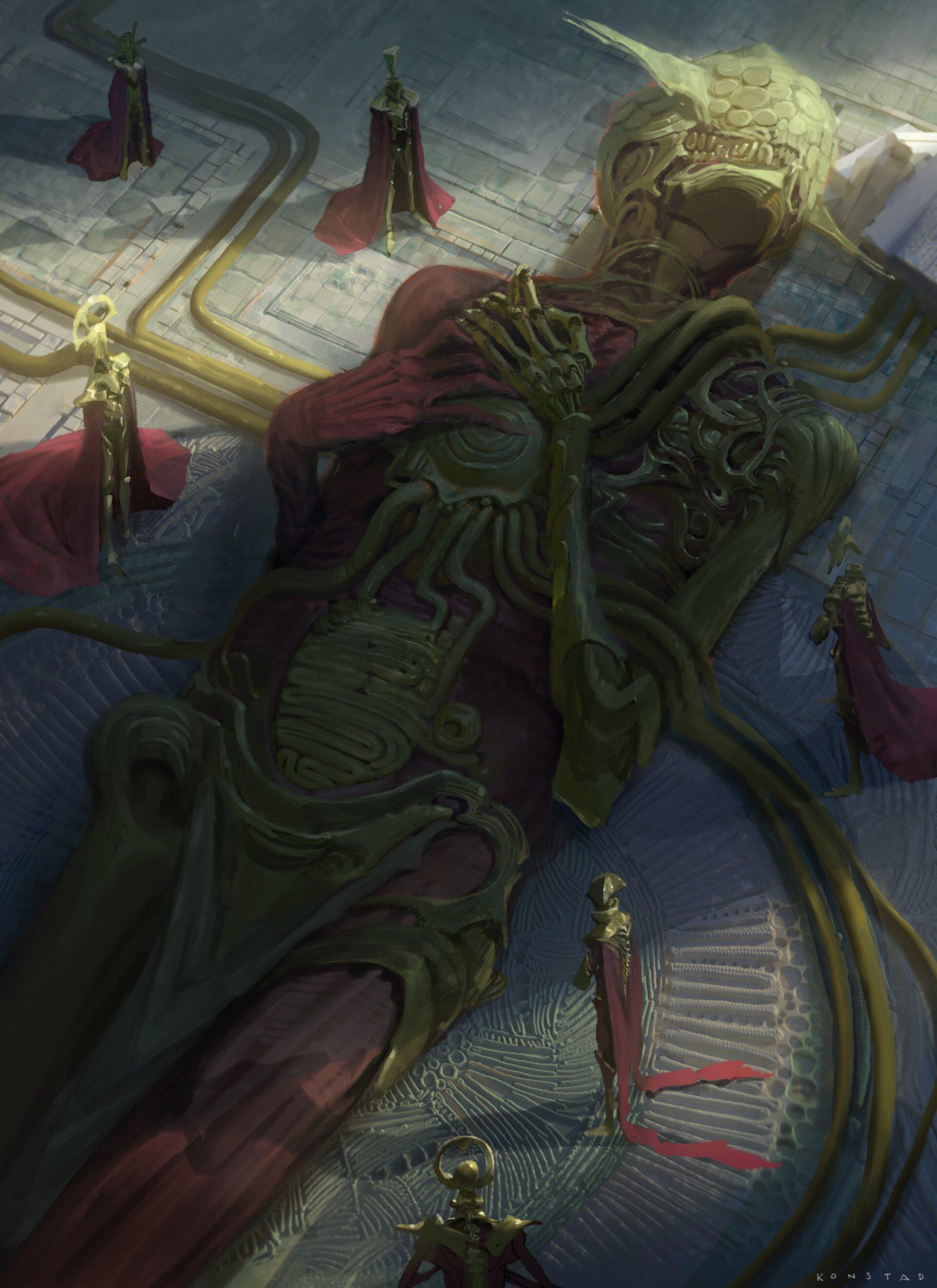 The Amazing Fantasy Artworks of Alex Konstad